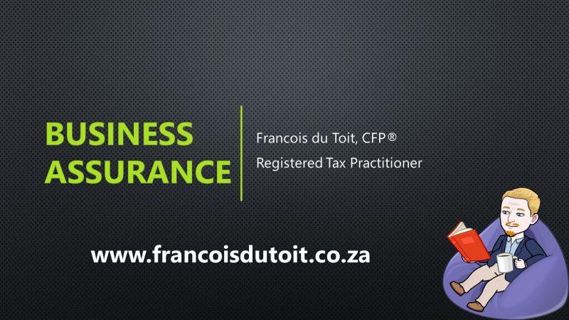 Business Assurance 2020