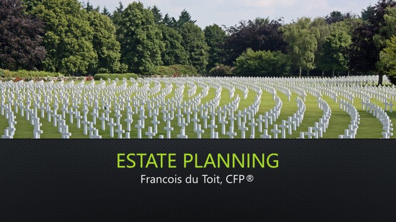 Estate Planning 2020