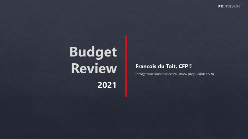 Budget Review 2021